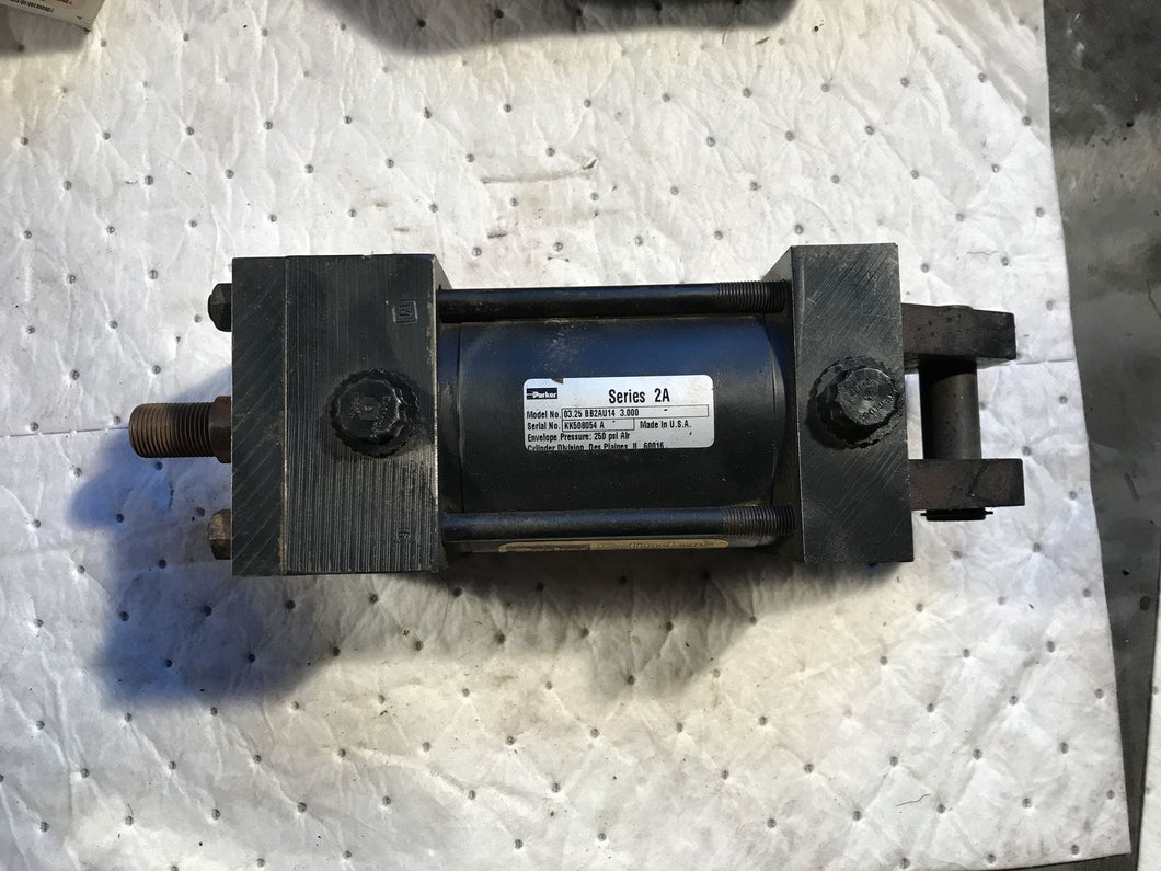 Parker Series 2A AIR PNEUMATIC CYLINDER 03.25 BB2aU14 3.000