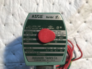 Asco Red Hat 8262G22 Valve