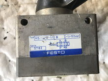 Load image into Gallery viewer, Festo LEVER HS-4/3-1/2 B 0782