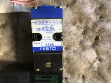 Load image into Gallery viewer, Festo Valve 6068 MFH-5-3, 3 MSFG-24