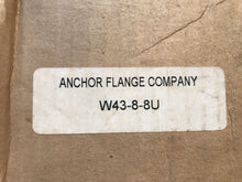 Load image into Gallery viewer, Anchor Flange W43-8-8U 4-Bolt Flange Fitting