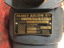 Load image into Gallery viewer, Fairey Arlon 374A-BV50SH123 HYDRAULIC FILTER