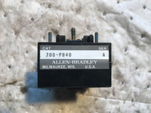 Load image into Gallery viewer, AB ALLEN BRADLEY 700-PB40 AUX CONTACT