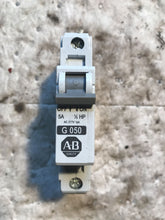 Load image into Gallery viewer, AB Allen Bradley 1492-CB1G050 Molded Case Circuit Breaker 1p 5a Amp 277v-ac