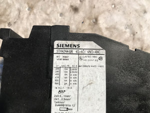 Siemens 3TH4244-0A Contactor 16 Amp 110V Coil