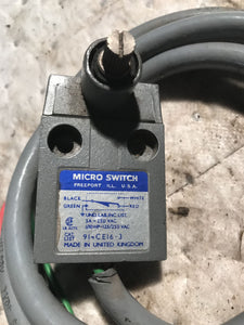 Honeywell Micro Switch 914Ce16-3