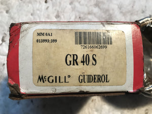 McGill MM0A1 GR 40 S Guiderol Precision Bearing