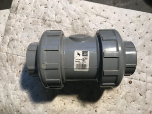 Spears 2229-020C True Union Check Valve 2'' Socket or Thread 235 PSI at 73F