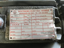 Load image into Gallery viewer, Reliance P28F312 Electric Motor Southern Electric Works 286T Enclosure TE