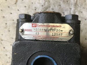 Commercial Intertech M20A894JEAF20-12587 Pump parker 308 5020 004