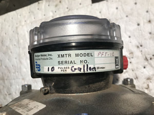 Badger Meter XMTR Model PFT-1E 33470787 62174-001 with cast brass chamber