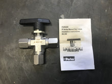 Load image into Gallery viewer, Parker Ball Valve 01zr 4f-b6xj2-ssp
