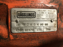 Load image into Gallery viewer, Hagglunds Drives S-890 CA 70 Radial Piston Motor