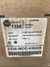Load image into Gallery viewer, AB Allen-Bradley Bulletin 1336 Dynamic Brake 1336-MOD-KB005 Series D