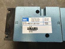 Load image into Gallery viewer, Mac Valve 811c-PM-611JD-152 Valve with PME-611JD solenoid