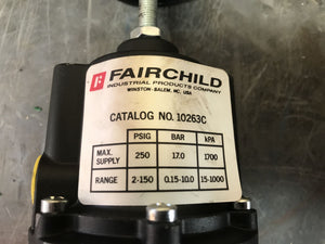 Fairchild Pneumatic Pressure Regulator 10263C