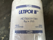 Load image into Gallery viewer, Pall Ultipor III HC7500SKT8H Hydraulic Filter