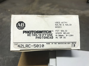 AB Photoswitch Retro/Diffuse Photohead 42LRC-5010