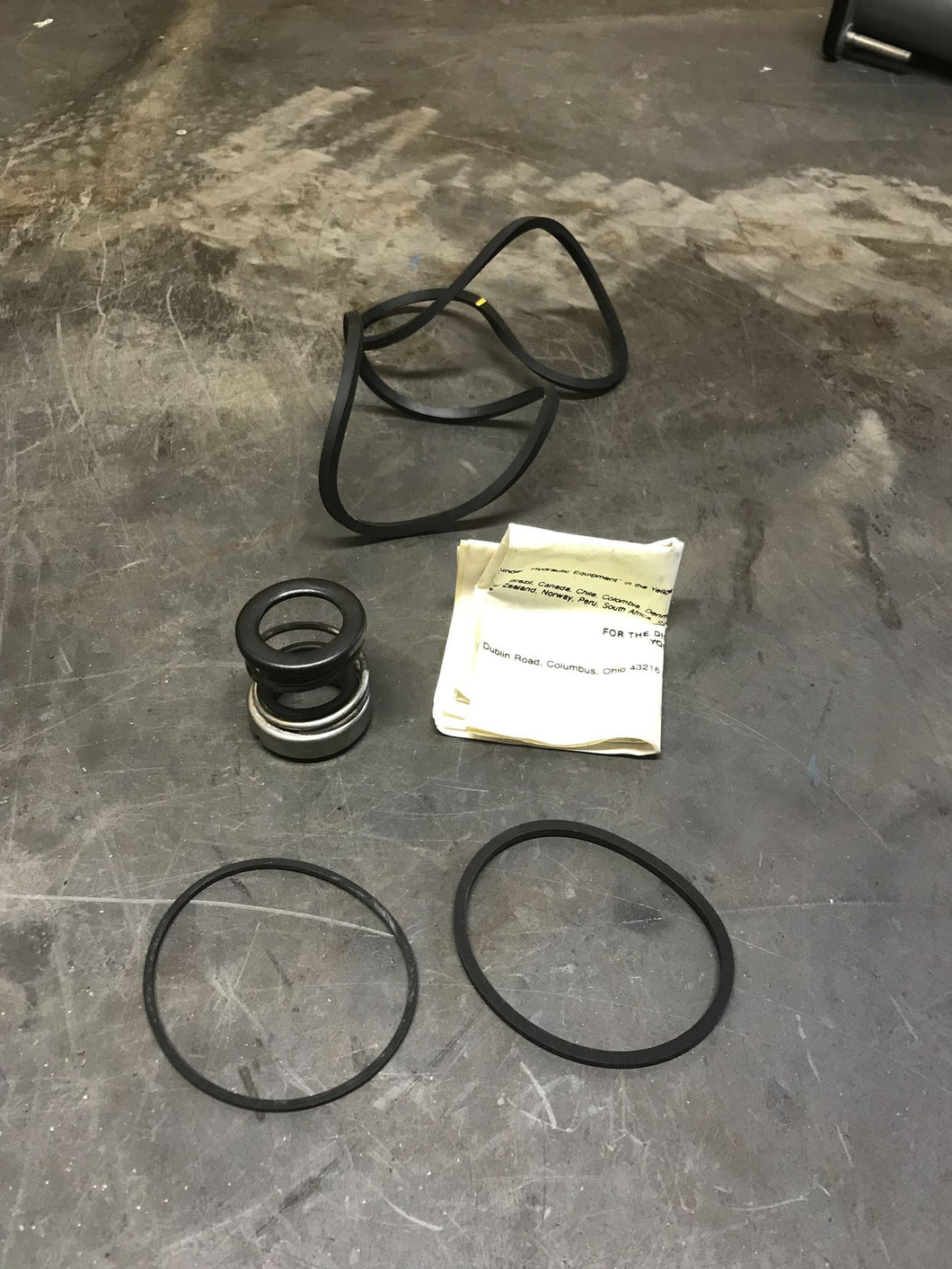 Hagglunds Denison 623-12559 Seal Kit 034-59246-A EG&G Sealol