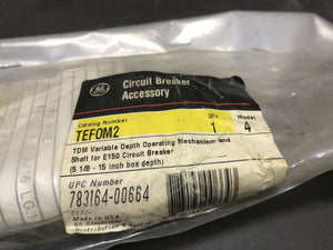 GE Circuit Breaker Accessory TEFOM2 Operating Mechanism Only