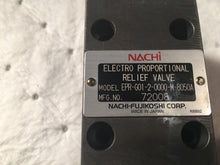Load image into Gallery viewer, Nachi electro proportional relief valve epr-g01-2-0000-m-8050a 72008 jdm-10p-102
