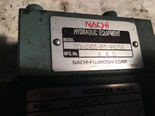 Load image into Gallery viewer, NACHI MODULAR VALVE og-g01-pc-21 zd-g01-p1-9825b 640