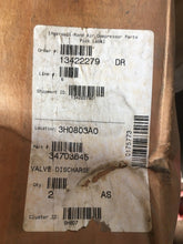 Load image into Gallery viewer, Ingersoll Rand Valve Discharge 34703645 Genuine OEM New