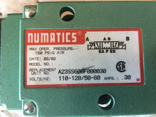 Load image into Gallery viewer, Numatics A23SS600F000030 Hydraulic Valve