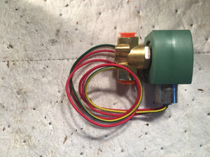 ASCO 8263G206 100 PSI 110 120 V 3/8 Red Hat Solenoid Valve