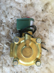 "Asco Red-Hat II Solenoid Valve 8210D4 1"" 120 Volt 2 Way"