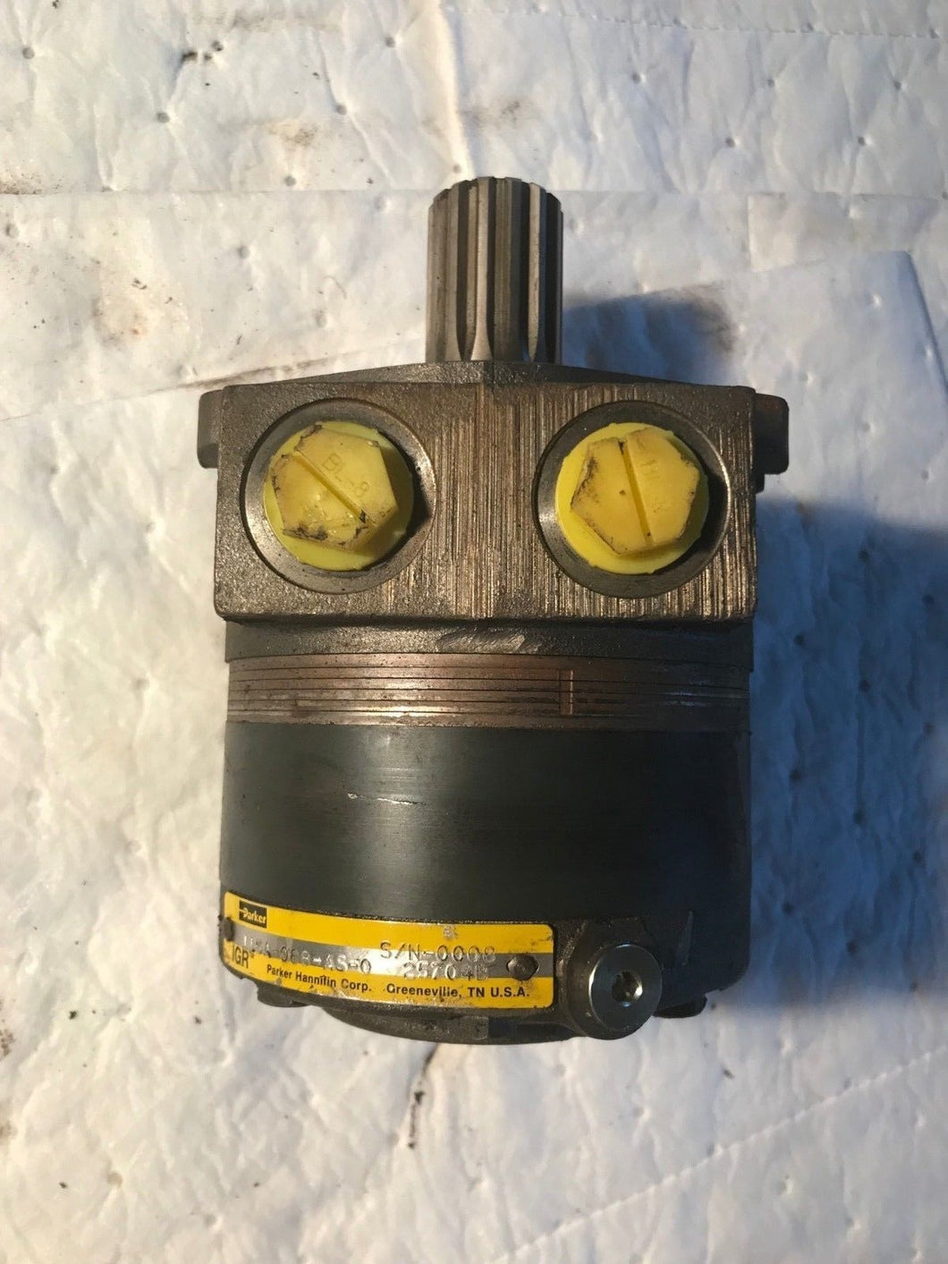 Parker 115A-088-AS-0 Hydraulic Motor