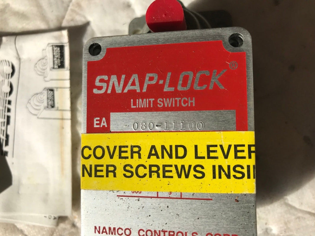 NAMCO CONTROLS SNAP-LOCK LIMIT SWITCH 080-11100