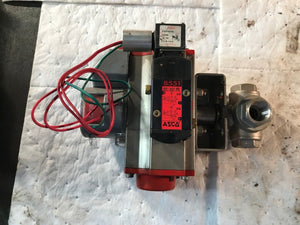 ASCO Red Hat WT8551A001MS, 24VDC Solenoid valve with Triad Controls 2R40DA