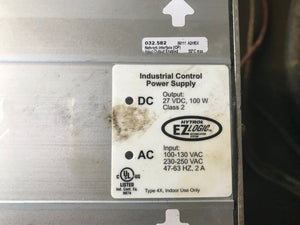 Eaton Hytrol 032.582 EZ Logic Industrial Control Power Supply, 27V