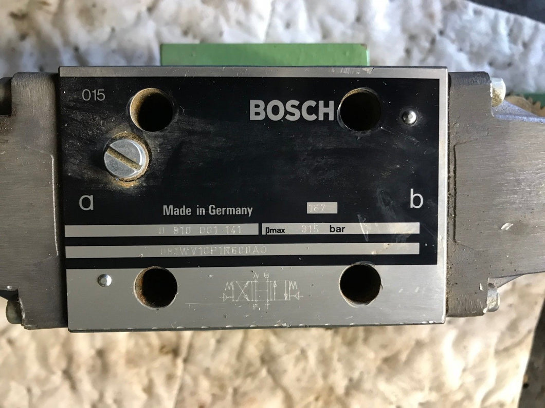 Bosch Rexroth Directional Control valve 0810001141 DB1WV10P1N600AD