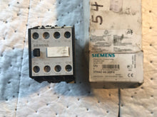 Load image into Gallery viewer, Siemens 3TH42 44-3BF4 Control Relay
