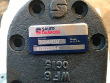 Load image into Gallery viewer, Sauer Danfoss Hydraulic Double Gear Pump for New Holland OEM 87020066