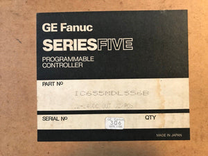 GE Fanuc Series Five IC655MDLG566B Local I/O INFT MDL