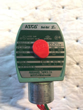 Load image into Gallery viewer, ASCO RED-HAT II VALVE 302014 AIR 155PSI WATER 180PSI OIL 140PSI 8262G2