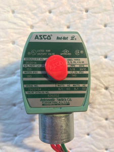 ASCO RED-HAT II VALVE 302014 AIR 155PSI WATER 180PSI OIL 140PSI 8262G2