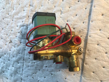 "Load image into Gallery viewer, 1/4"" Asco Red-Hat 8300G058U Brass 3-Way Solenoid Valve 120V E12"