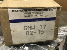 Load image into Gallery viewer, Miether Bearing Products SNW 17 02-15 Adapter Sleeve