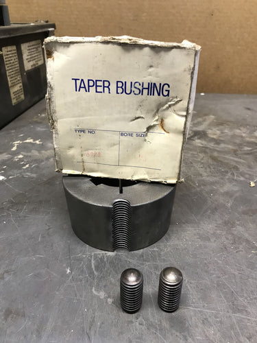 3020 1-15/16 Taper Bushing with screws