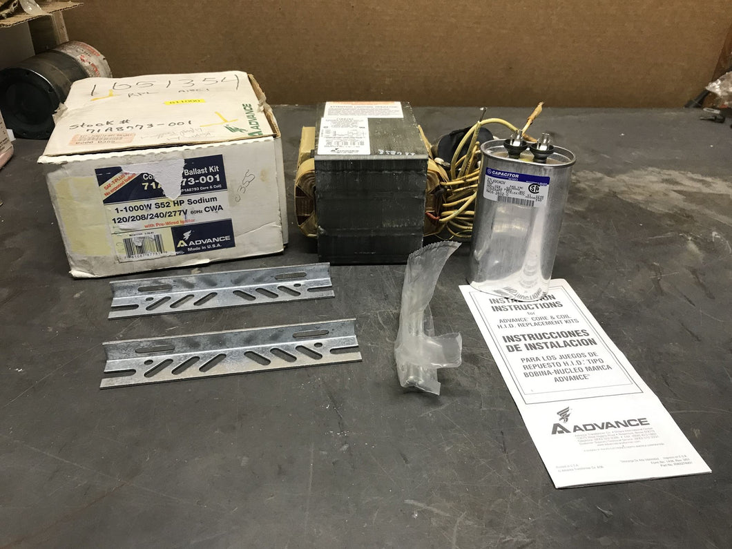 Advance Ballast Kit 71A8753-001 with GE 27L490ADV Capacitor