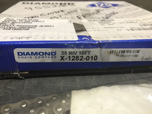 Diamond Chain Company X-1282-010 35 RIV 10FT