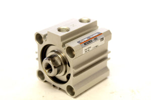 SMC NCQ2B32-20D PNEUMATIC CYLINDER 32MM BORE 20MM STROKE 145PSI