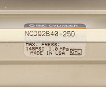 Load image into Gallery viewer, SMC NCDQ2B40-25D Compact Cylinder