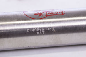 Bimba D-40566-A-3 PNEUMATIC CYLINDER 1-1/2INCH BORE 3INCH STROKE DBL