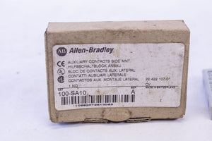 Allen Bradley AB 100-SA10 Side Mount Auxiliary Contact