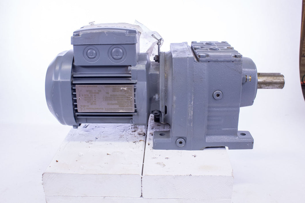Sew-Eurodrive SF37 DR63L4 AC motor and gearbox
